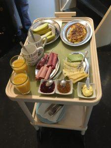 Rumah Senang ontbijt